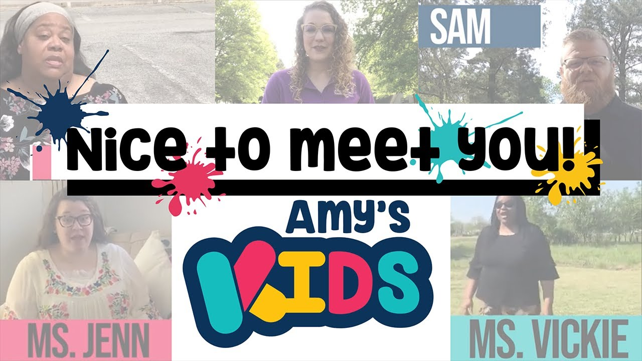 Welcome to Amy's Kids!